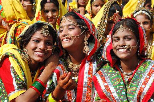 dragostea în India