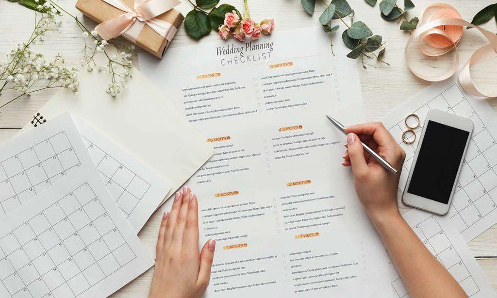 planificator pentru nuntă