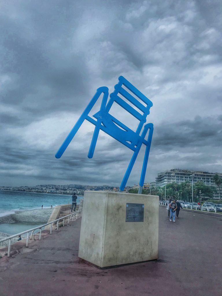Nisa - Le chaise bleu