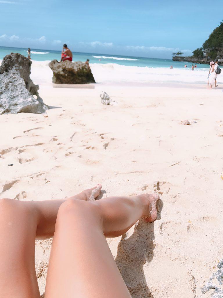 Tan in Boracay
