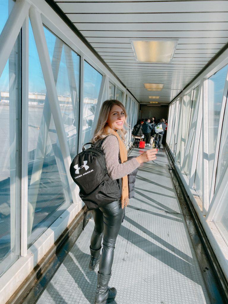 backpack trip in stockholm