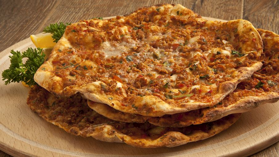 preparate turcesti - lahmacun
