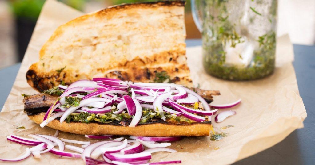 Preparate turcești -  Sandvici cu pește