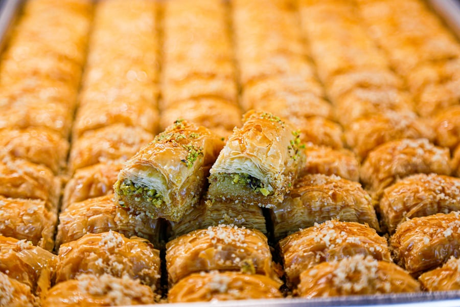 preparate turcesti - baklava