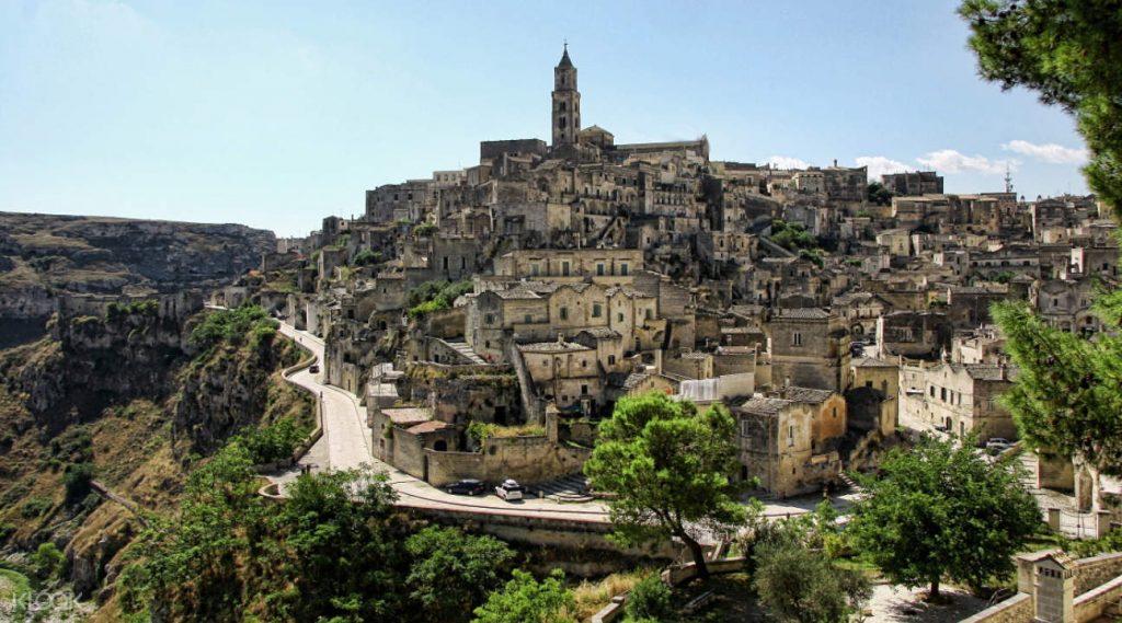 călătorie în Matera
